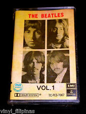 PHILIPPINES:THE BEATLES - White Album Volume 1 TAPE,RARE