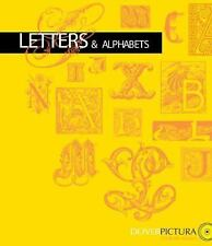 Letters & Alphabets (Dover Pictura Electronic Clip Art), Dover, Good Book