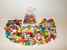 Lego Accessories Pack - 50pce Animals / Tools / Hats / Specialist Parts FREE BAG