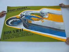 Original 1974 Harley Davidson Race Poster Loudon, NH Road Race 250 Gary Scott