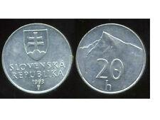 SLOVAQUIE 20 halierov 1993