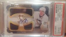2013 - 14 UD THE CUP SIDNEY CROSBY FOUNDATION JERSEY AUTO # 02/15 PSA 10