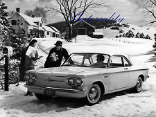 Chevrolet Corvair 700 Deluxe Club Coupe 1961  Press 8 x 10 Photograph