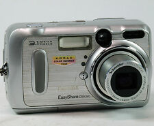 Kodak Easyshare DX6340 3.1mp Digital Camera. Card And Pouch. Working.