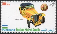 1948 MG TC T-Type Sports Car Automobile Stamp