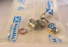 2 Stück - BNC Stecker 50Ω RG174 Lötversion, HQ  - RADIALL - R141004000