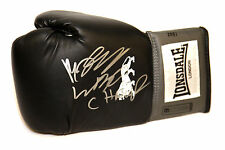 *New* Billy Joe Saunders Signed Black Lonsdale Boxing Glove.