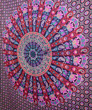 Indian Tapestry Hippie Wall Hanging Cotton Twin Bedspread Throw Table Cloth