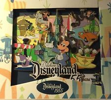 Disney Pin Dateline Disneyland Super Jumbo Le 100 Park Map Dumbo Jungle Cruise
