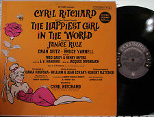 Happiest Girl in the World (Soundtrack) (Col.) (Mono) Cyril Ritchard,Janice Rule