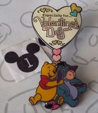 Winnie the Pooh and Eeyore Especially for Valentine's Day Heart Disney Pin