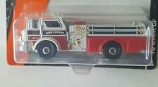 Matchbox 2016 # 55 '75 Mack CF  fire engine  Red/White  MBX Heroic Rescue