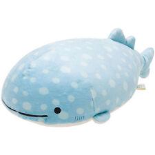 Whale Shark Jinbei San Super Mochimochi Soft Plush Doll M ❤ San-X Japan