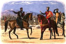 Richard il Lionheart e il capitano di San Giovanni repro art print 7x5 cm
