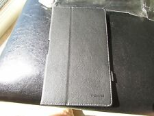 """Moko SONY Z3 Xperia  8"""" TABLET Folio Hand Strap Stand Cover Case Black LOT of 25"""