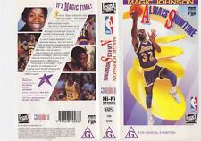BASKETBALL ~ MAGIC JOHNSON SHOWTIME~ VHS PAL VIDEO