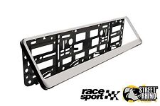 Peugeot Bipper Race Sport Chrome Number Plate Surround ABS Plastic