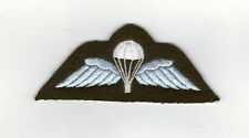 BRITISH ARMY PARACHUTE REGIMENT QUALIFICATION WINGS- COLOURED ISSUE - NEW