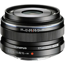New Olympus 17mm f/1.8 M.ZUIKO Wide-Angle Lens for Micro 4/3 Black FREE SHIP