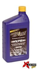 OLIO MOTORE RACING ROYAL PURPLE XPR 5W20 AUTO MOTO sintetico motor oil