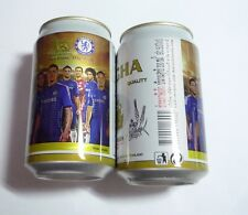 EMPTY SINGHA CHELSEA Two Lions One Pride Lager BEER can THAILAND 330ml Asia 2014
