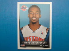 2014-15 Panini NBA Stickers Collection N.100 Brandon Jennings Detroit Pistons
