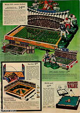 1970 ADVERTISEMENT Game NFL Electric Baseball American National League Pinball