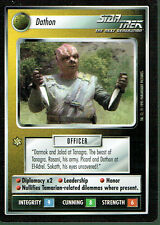 STAR TREK CCG ALTERNATE UNIVERSE RARE CARD DATHON