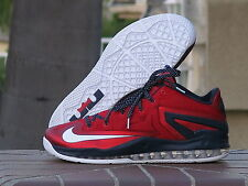 2014 Nike LeBron Max XI Low 'Independence Day' USA DS 642849-614 SZ 12
