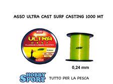 FILO ASSO  ULTRA SURFCASTING GIALLO 0,24 / 1000 MT
