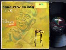 OSCAR PAPA CELESTIN The Dixieland King LP IMPERIAL RECORDS US 1961 JAZZ DG MONO