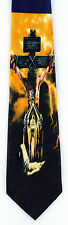 Jesus Son God Mens Necktie Crucifixtion Christian Religious Easter Gift Tie New
