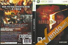 RESIDENT EVIL XBOX360 XBOX 360 VIDEO GAME GIOCO AVVENTURA HORROR ZOMBIE CULT