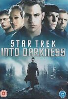 STAR TREK INTO DARKNESS - Chris Pine, Benedict Cumberbatch, Zachary Quinto (DVD)