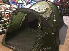 Eurohike Avon 3 man berth person dome green tent festival 3000mm head RRP £110