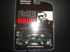 Greenlight Ford Mustang GT 1968 Steve McQueen Bullitt 1/64 Limited Edition
