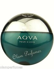 Bvlgari Aqva (Aqua) Pour Homme Eau de Toilette Spray 5.0oz 150ml New * Original