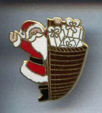 RARE PINS PIN'S .. ART PERE NOEL CHRISTMAS NOEL HOTTE EMAIL ~2A