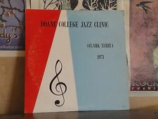 CLARK TERRY, DOANE COLLEGE JAZZ CLINIC 1973 - RARE RENE DOUBLE LP R 1135
