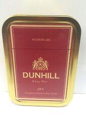 Dunhill De Luxe Retro Advertising Brand Cigarette Tobacco Storage 2oz Tin