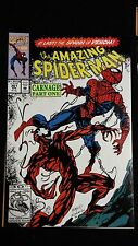the amazing spiderman 361/362/363 + Spiderman unlimited 1 1st app carnage story