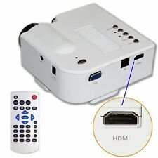 Laptop Portable Projector Presentation Sales Mini Hd LED PC Powerpoint Video New