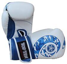 Boxhandschuh TOP TEN Blue Whirl WCS, in 10,12 u 16Oz. Boxen, Kickboxen,Muay Thai