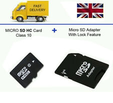 16GB Micro SD SDHC Memory Card Class 10 Smart Phones, Tablets + FREE ADAPTER