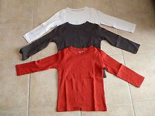 Lot de 3 tee-shirt polo manches longues unis - 6 ans
