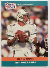1990 Pro Set Dan Marino Miami Dolphins #181  Football Card
