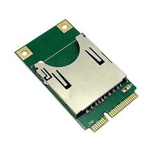 Mini PCI-E to SD SDHC TF MMC Memory Card Reader Adapter as SSD PA-MR04