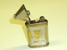 "ASCOT VINTAGE POCKET LIGHTER - ""GAS WATER HEATERS LTD."" - NO. 823691 - ENGLAND"