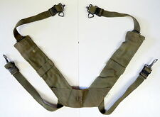 US MODEL M-1956 COMBAT FIELD PACK SUSPENDERS-CANVAS TYPE