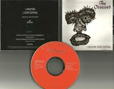 THE OBSESSED Streetside /Blind PROMO DJ CD Single w/ PANTERA White Zombie Quotes